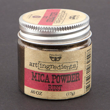 Art Ingredients-Mica Powder: Rust 17g