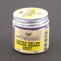 Art Ingredients-Micro Beads: Berry 57g