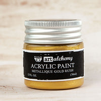 Art Alchemy-Acrylic Paint-Metallique Gold Rush 1.7oz 655350963071