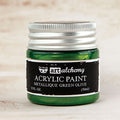 Art Alchemy-Acrylic Paint-Metallique Green Olive 1.7oz