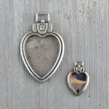 Mechanicals: Heart Locket Pendants 2pc.