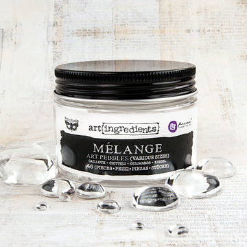 Art Ingredients: Mélange Art Pebbles 46pc. 655350963323