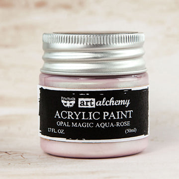Art Alchemy: Acrylic Paint-Opal Magic Aqua-Rose 1.7oz