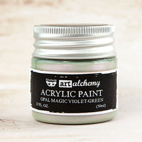 Art Alchemy: Acrylic Paint-Opal Magic Violet-Green 1.7oz 655350963644