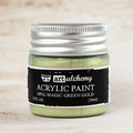 Art Alchemy: Acrylic Paint-Opal Magic Green-Gold 1.7oz