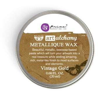 Art Alchemy-Metallique Wax-Vintage Gold