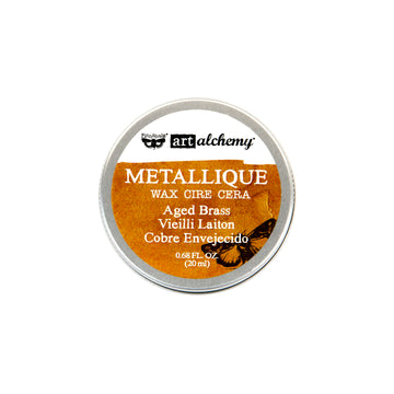 Art Alchemy-Metallique Wax-Aged Brass 655350963965
