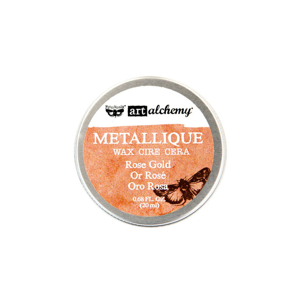 Art Alchemy-Metallique Wax-Rose Gold 655350963972