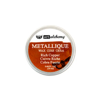 Art Alchemy-Metallique Wax-Rich Copper 655350963989