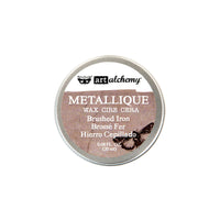 Art Alchemy-Metallique Wax-Brushed Iron 655350964009
