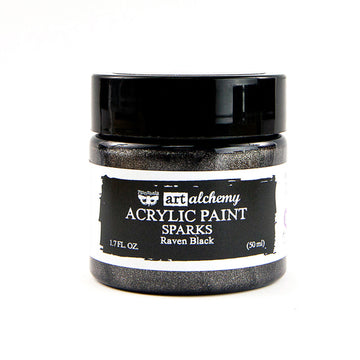 Art Alchemy - Sparks - Raven Black 50ml 655350964146