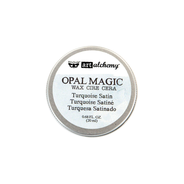 Art Alchemy-Opal Magic Wax-Turquoise Satin 655350964276