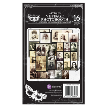 Art Daily Planner Sticker Pad - Vintage Photobooth