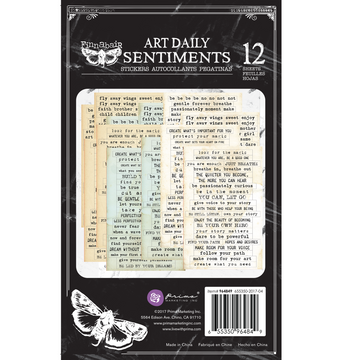 Art Daily Planner Sticker Pad - Sentiments