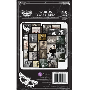 Art Daily Planner Sticker Pad - Words You Need