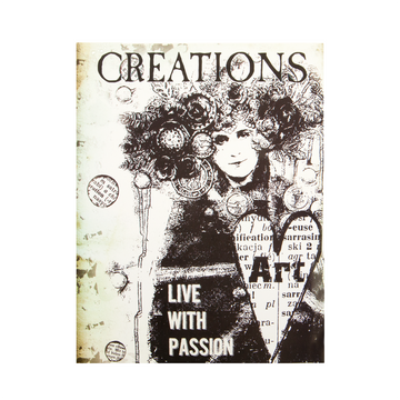 Art Daily Planner Booklet - Creation