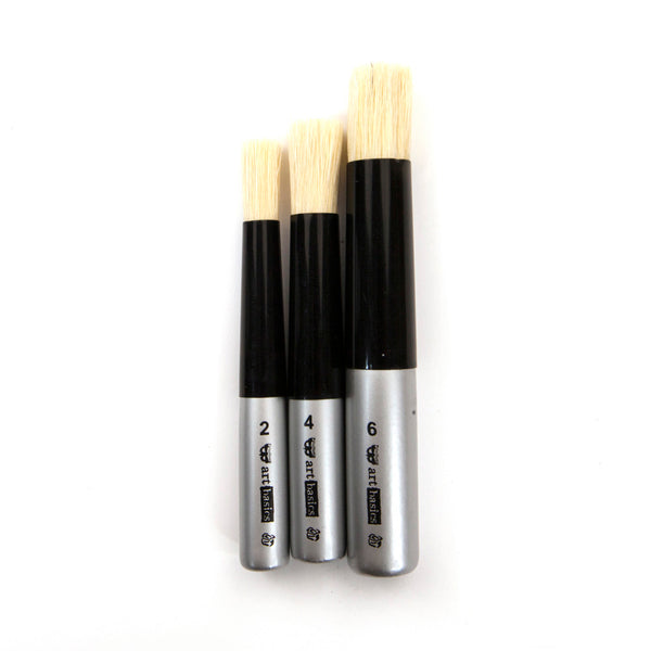 Art Basics - Dabbing Brush Set of 3 655350965228