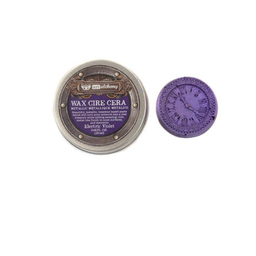 Finnabair Metallique Wax - Electric Violet