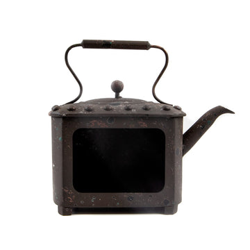 Finnabair Metal Frame Rusty Pot