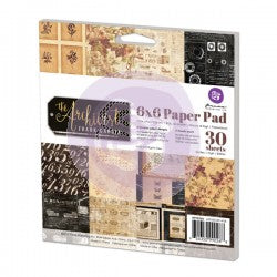 6x6 Paper Pad-The Archivist (Frank G) 655350990268