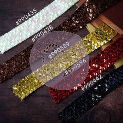 Memory Hardware sequin Trim - Ruby 655350990596