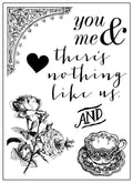 3x4 Clear Stamp-Tales of You & Me 655350990978