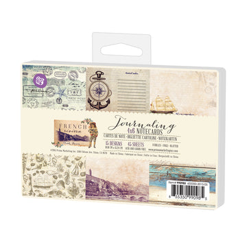 4x6 Journaling Cards-French Riviera 655350990985