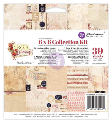 6x6 Collection Kit - Love Clippings