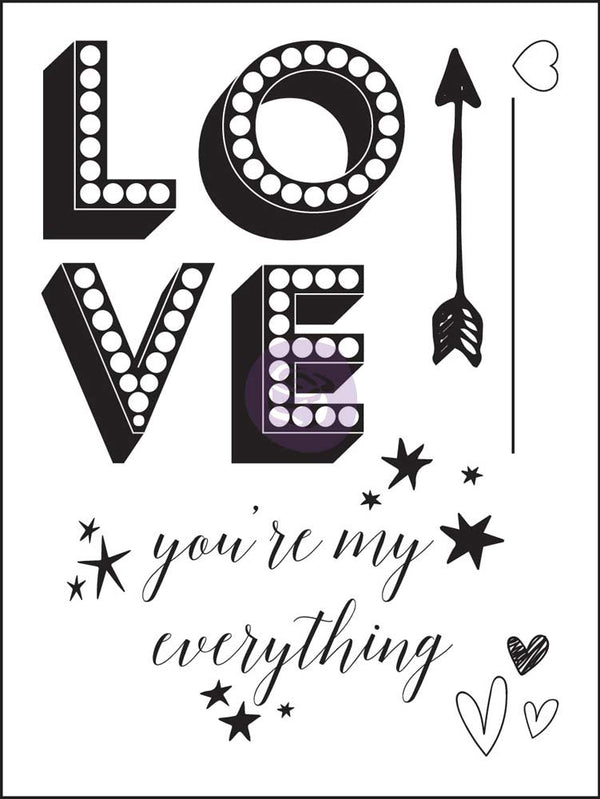 Clear Stamp - Love Clippings 655350992132