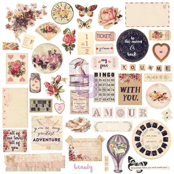 Chipboard & More - Love Clippings 655350992149