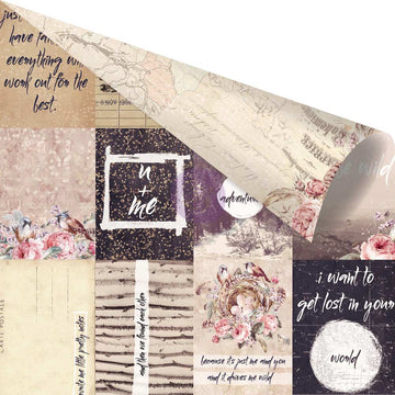 12 x 12 Wild & free - Pretty Little Notes 655350992231