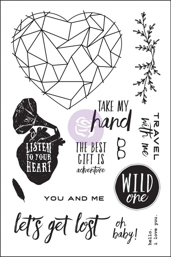 4x6 Cling Stamp - Wild & Free 655350992330