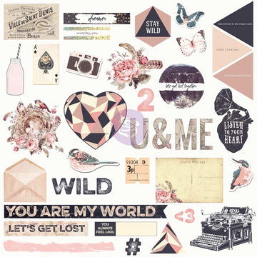 Chipboard & More - Wild & Free 655350992347