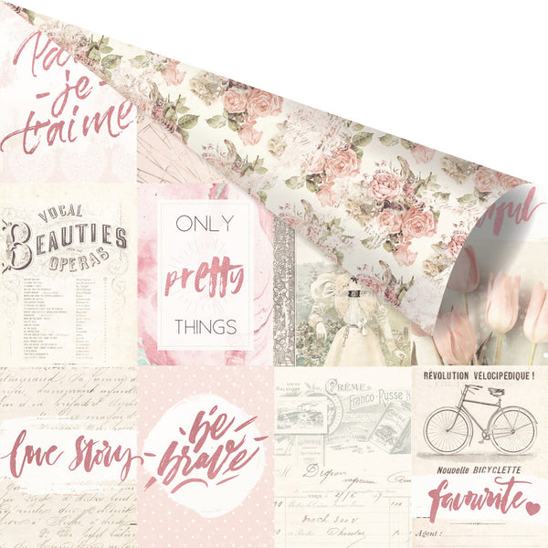 "Love Story - 12x12 Sheet ""Notes That Last Forever"" 655350993917"