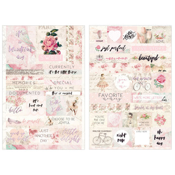 Love Story - Quote + word stickers