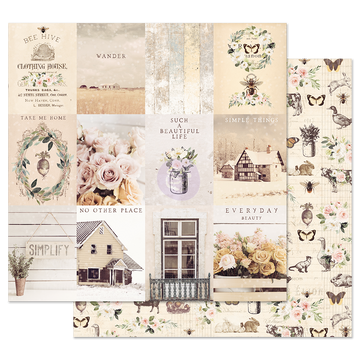 Spring Farmhouse 12x12 Sheet - Simple Things