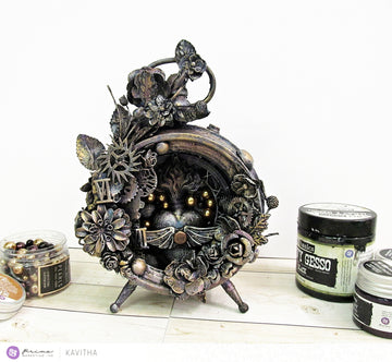 "Mixed Media Kit - ""The Altered Clock"""