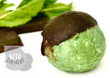 Load image into Gallery viewer, Keto Low Carb Pralines - Mint Chocolate, Vegan Sugar Free Gluten Free