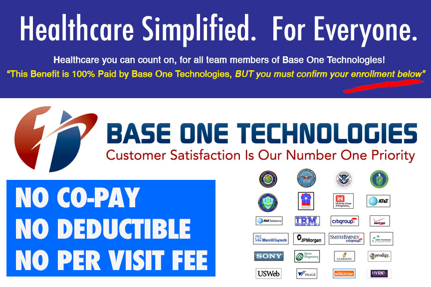 Base One Technologies Confirm