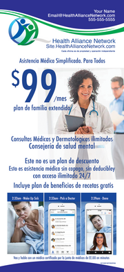 Rack Cards $99 Offer SPANISH En español - 1000