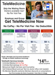 Special! $14.99 Month Health Plan for Individuals & Families