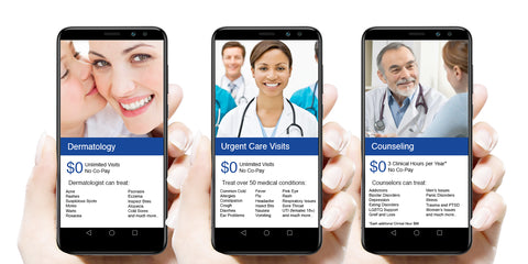 GetTelemedicine $24.99 Month Health Plan for Individuals & Families $0 Co-Pay