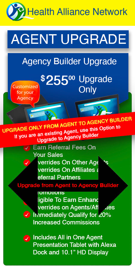 Click Here if you Are already an Agent and want to Upgrade from an Agent to an Agency Builder