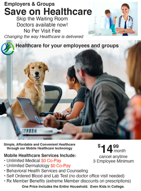 Employers & Groups    -   $14.99 Per Employee Per Month Healthplan - Orig 030620