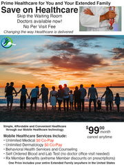 Prime Healthcare- Extended Family Health Plan $0 Co-Pay