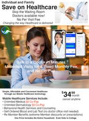 $35 Month Health Plan for Individuals & Families $0 Co-Pay
