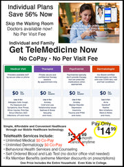 Wilton Manors $14.99 Month Health Plan for Individuals & Families $0 Co-Pay