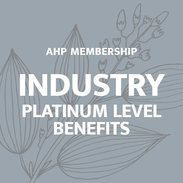 Industry Membership: Platinum Level Benefits