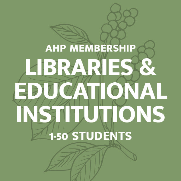 Libraries & Educational Institutions Membership: 1-50 Students