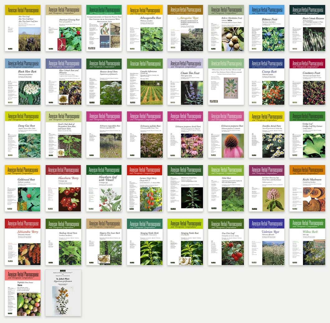 Complete Set of 42 Botanical Monographs